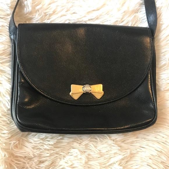 Vintage Nina Ricci black shoulder bag